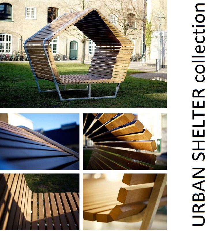 New collection URBAN SHELTER- Design: Martin Solem