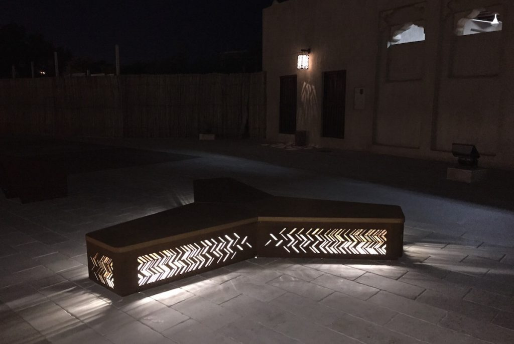 Charm Bench