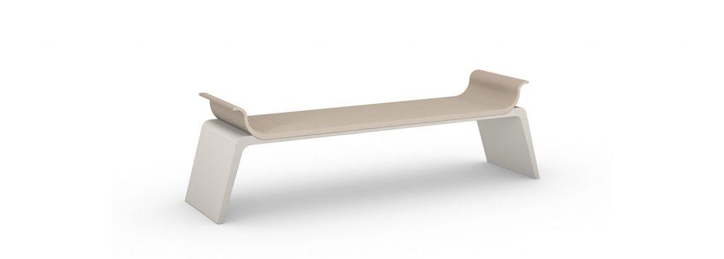 Leather Bench + Armrests