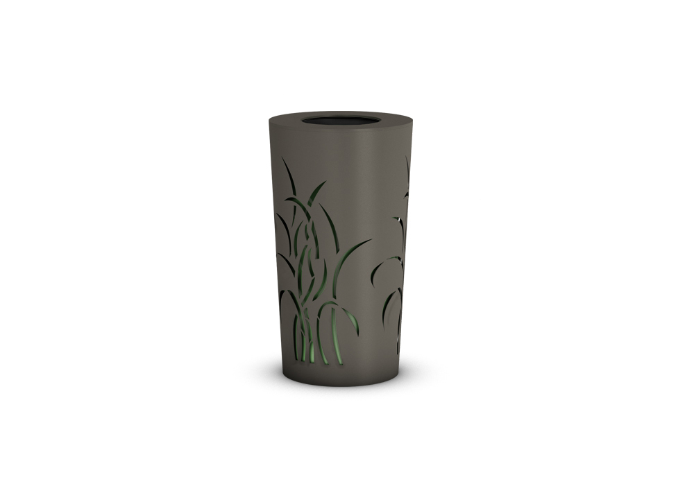 Grass Conic Litter Bin