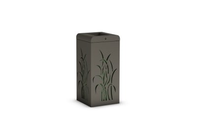 GRASS SQUARE LITTER BIN