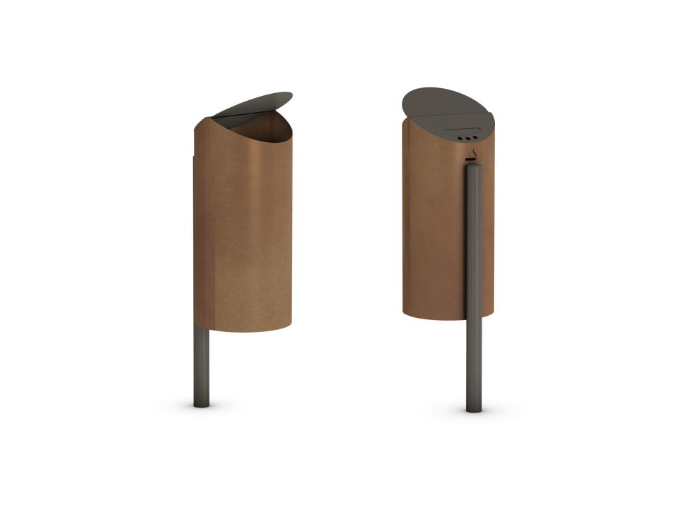 Neo Litter Bin Pole Bracket