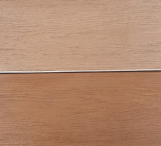 The new wood effect