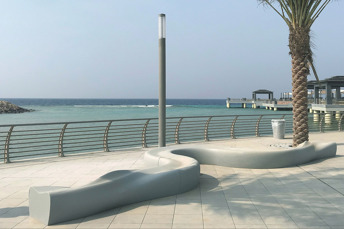 Dune and Dune Curve Benches