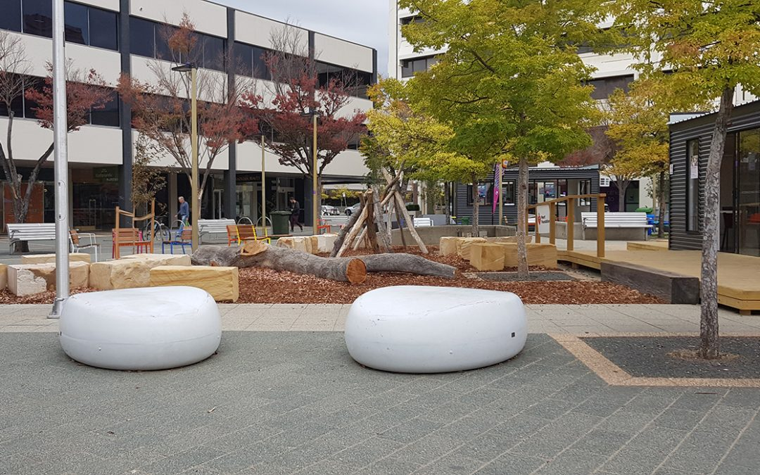 Pebbles Seating In Woden Canberra