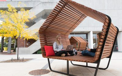 Urban Shelters At Curtin University
